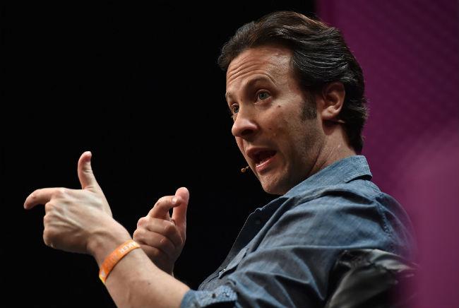 David Eagleman. Photo: Sportsfile.