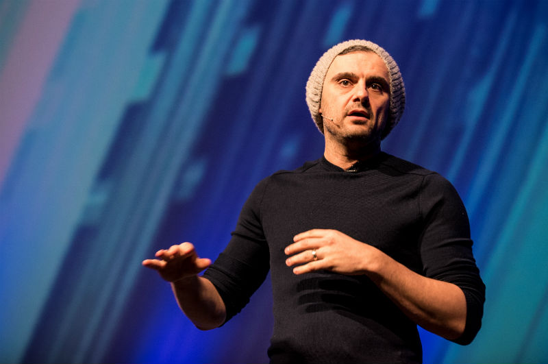 Gary Vaynerchuk speaking at Dublin Tech Summit.